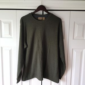 Ll Bean long sleeve pullover sweater size large